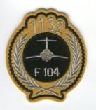 1132 hrs F-104