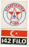 142 filo F-104