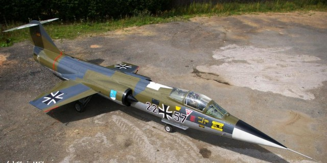 German Air Force F-104G 22+57
