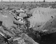F-104 749 crash site12/20/62