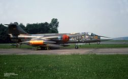 24+46 F-104G JaboG 31 Jun1976 at Norvenich_Helmut BaumannX