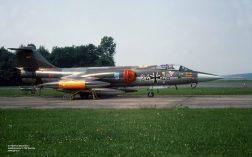 24+46 F-104G JaboG 31 Jun1976 at Norvenich_Helmut BaumannX