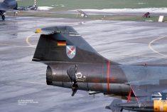 25+79 F-104G JaboG 31 Norvenich 02Feb1979 after midair with 22+08_Helmut BaumannX