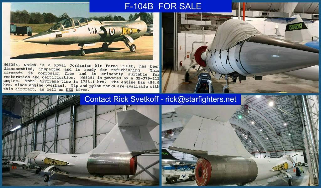 For sale - International F-104 Society International F-104
