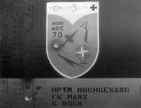25+97 F-104G JG74 badge Alconbury 05Sept1970X